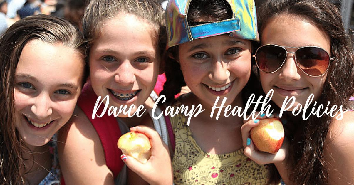 Dance Camp Health Policies