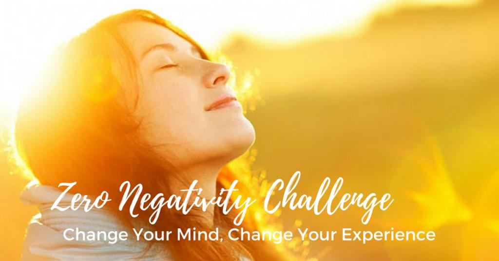 zero negativity challenge at dance camp