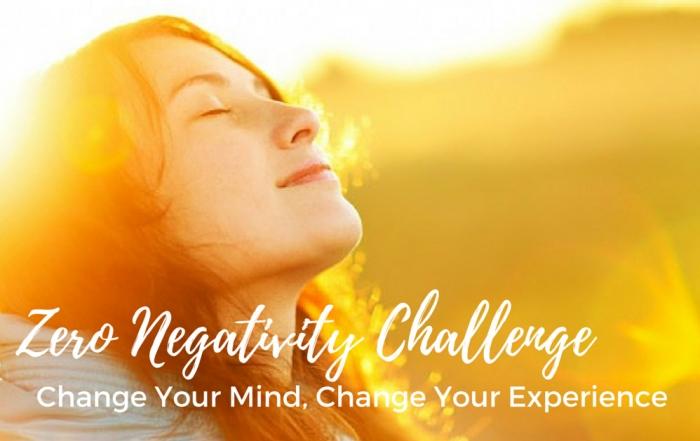 Zero Negativity Challenge Featured