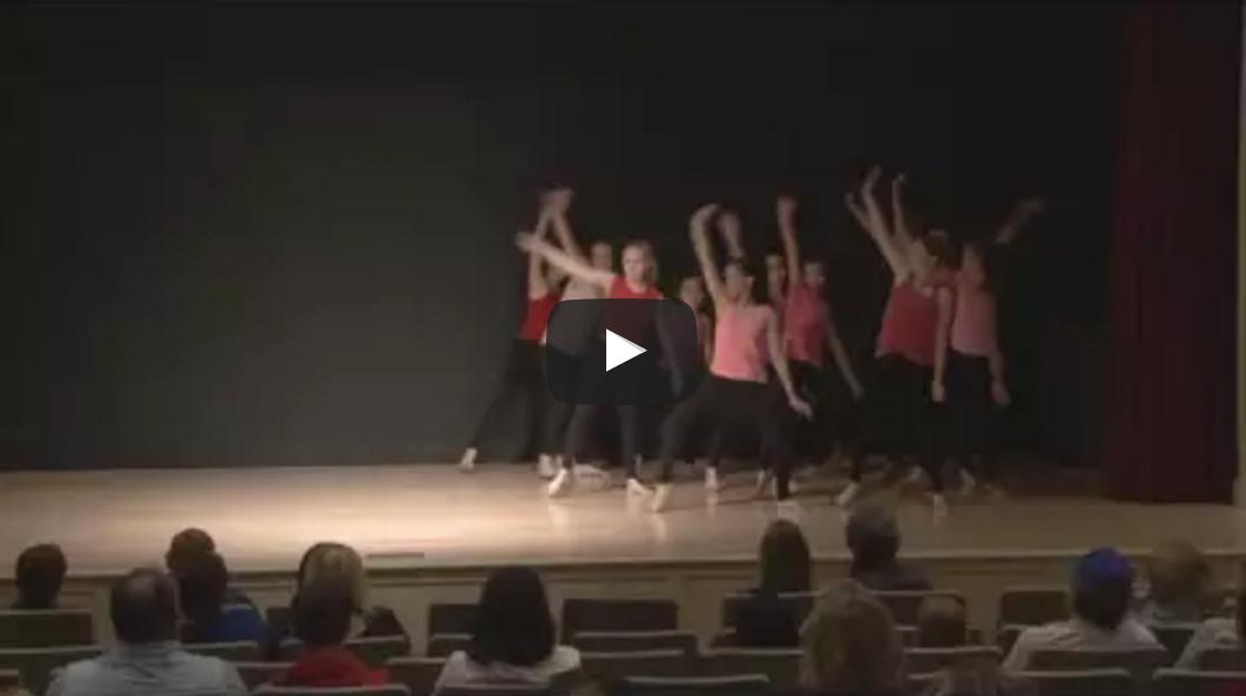 Girl on Fire Dance