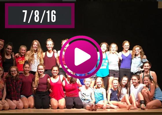 VT Dance Camp Videos - 7/8/16