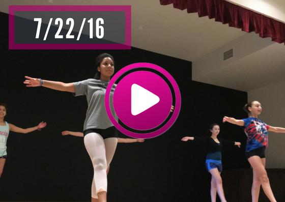 VT Dance Camp Videos - 7/22/16