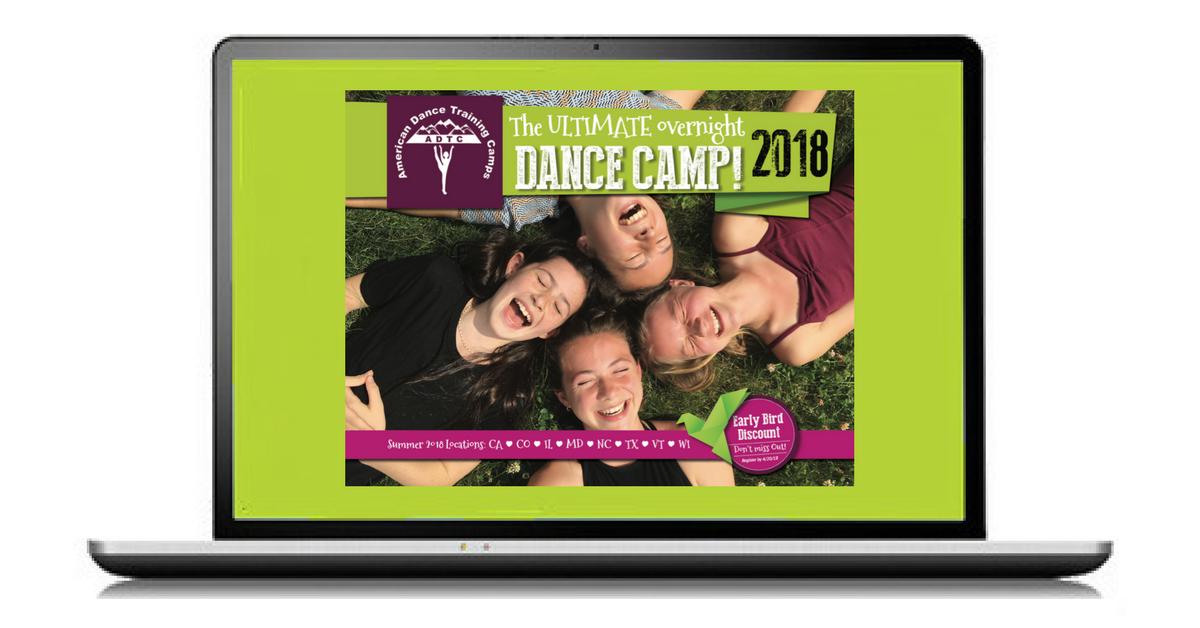 Get Dance Camp Info - Request Brochure!